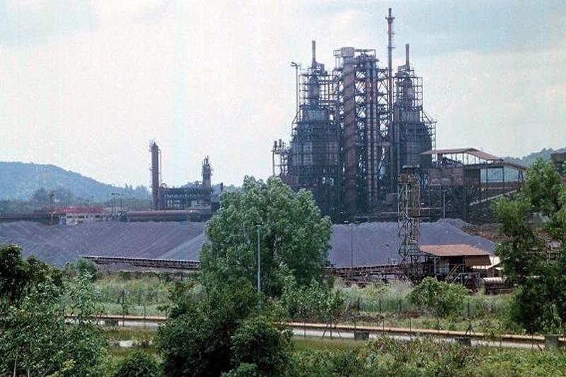 perwaja steel mill